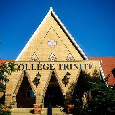 Devanture du Collège Trinité - École secondaire privée